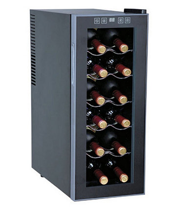 SPT 12-Bottle Thermo-Electric Slim Wine Cooler SPT Appliance Inc.