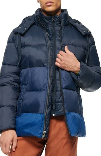 Dovers Padded Puffer Jacket Andrew Marc