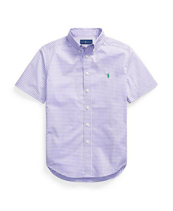 Big Boys Gingham Cotton Poplin Shirt Ralph Lauren