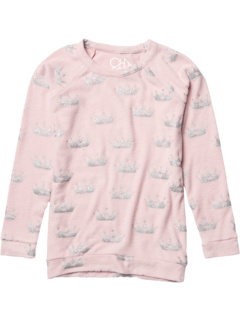 Love Knit Raglan Pullover (Little Kids/Big Kids) Chaser Kids