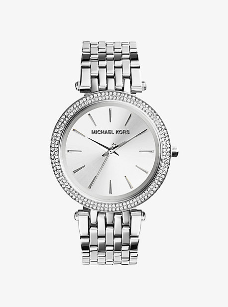 Darci Silver-Tone Watch Michael Kors