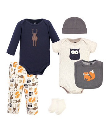 Boys and Girls Cotton Layette Set Hudson Baby