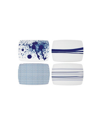"Pacific Cheese Boards 7.8"" Set/4 Royal Doulton"