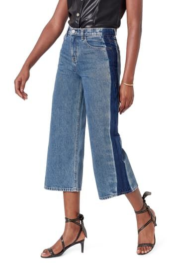 Wilmer High Rise Wide Leg Crop Jeans Joie