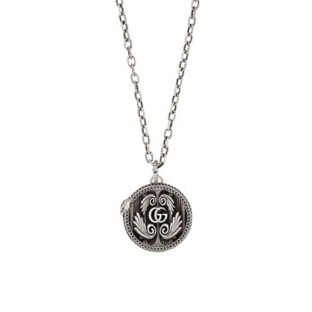 GG Marmont Sterling Silver Pendant Necklace GUCCI
