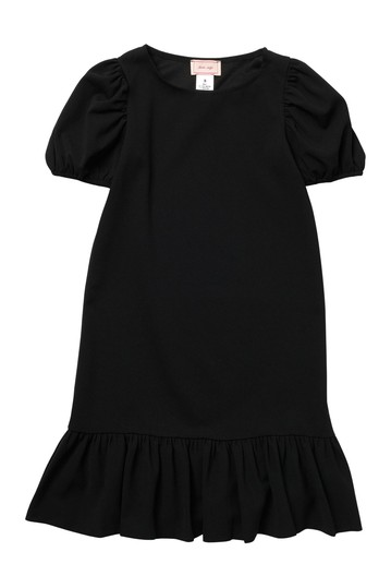 Puff Sleeve Flounce Dress (Big Girls) Love...Ady