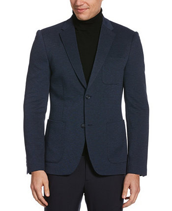 Men's Big and Tall Knit Textured Stretch Jacket Perry Ellis