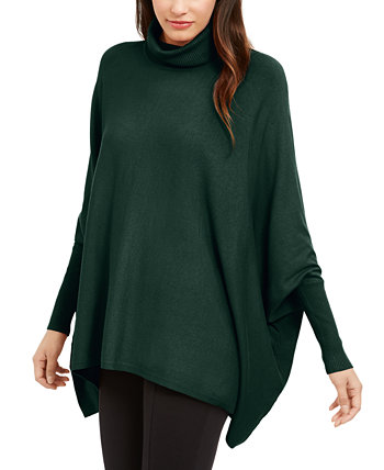 Turtleneck Poncho Sweater, Created for Macy's Alfani
