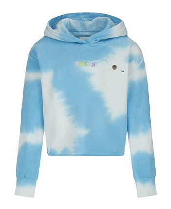 Big Girls Friends with You Collaboration Allover Cloud Print French Terry Hoodie GUESS