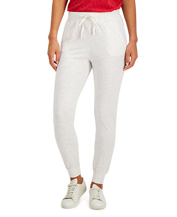 Petite Solid Joggers, Created for Macy's Style & Co