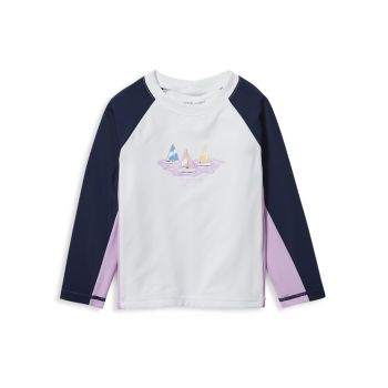 Baby's, Little Boy's & Boy's Sailboat Rashguard Top Janie and Jack