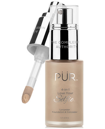 4-в-1 Love Your Selfie Longwear Foundation & Concealer PUR