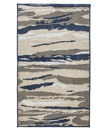 """Textured Strokes 27"""" x 45"""" Tufted Scatter Rug Seventh Studio"""