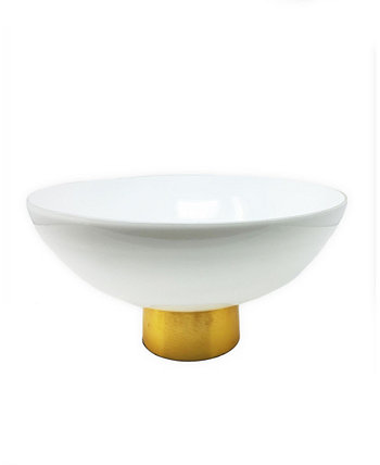 Glass Bowl with Base Classic Touch
