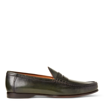 Чалмерс из телячьей кожи Penny Loafer Ralph Lauren