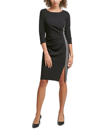 Embellished Sheath Dress Calvin Klein