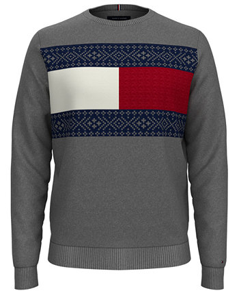 Men's Fair Isle Pullover Sweater Tommy Hilfiger