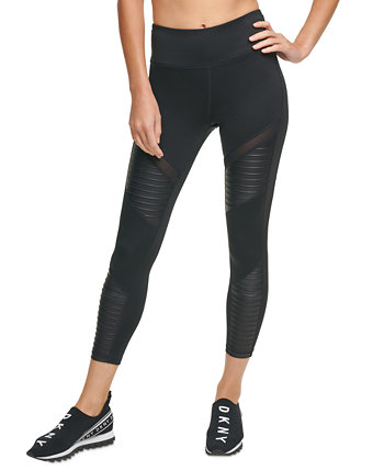 Sport Moto High-Waist Leggings DKNY