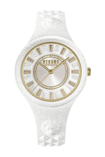 Women's White Dial White Silicone Strap Watch, 39mm VERSUS
