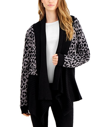 Printed Waterfall Cardigan Fever