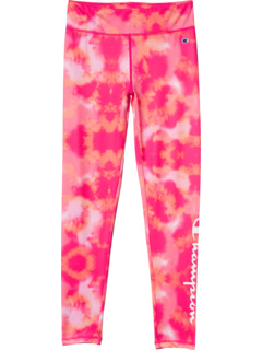All Over Print Tie-Dye Print Leggings (Big Kids) Champion Kids