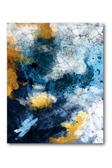 Abstract Conversation Gallery Wrapped Canvas Wall Art Courtside Market