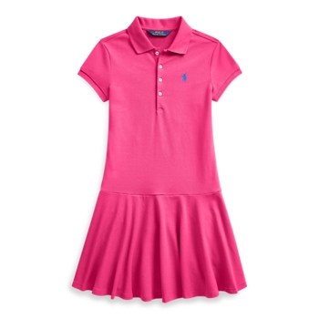 Stretch Mesh Polo Dress Ralph Lauren