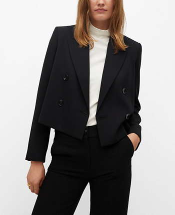Women's Crop Blazer MANGO
