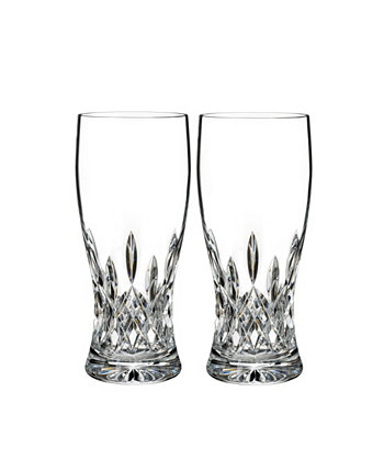 Lismore 18 oz Connoisseur Pint Glass, Set of 2 Waterford