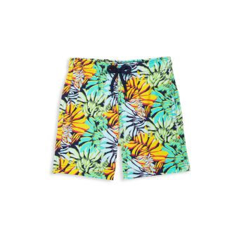Little Boy's & Boy's Jungle Print Swim Trunks VILEBREQUIN