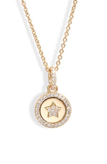 Star Circle Pendant Necklace NADRI