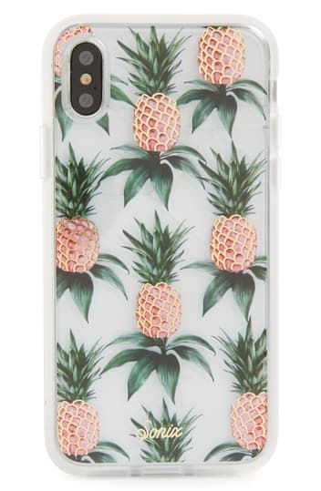 Pink Pineapple iPhone X/Xs Case SONIX