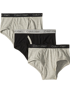 3-Pack Cotton Span Brief (Little Kids/Big Kids) Calvin Klein