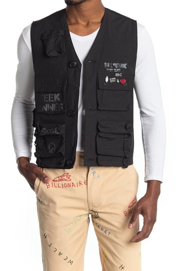 C-1 Graphic Fishing Vest Billionaire Boys Club