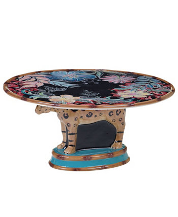 Exotic Jungle 3-D Cake Stand Certified International