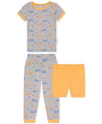 Toddler Boys 2-Piece Airplane-Print Pajama Set with Shorts Max & Olivia