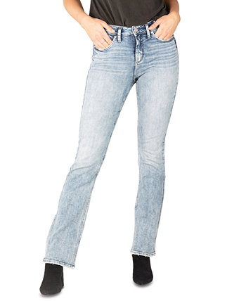 Avery High-Rise Slim Bootcut Jeans Silver Jeans Co.