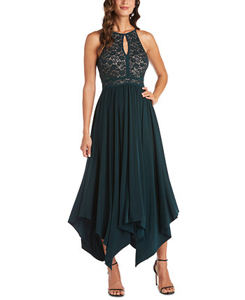 Lace Fit & Flare Dress Nightway
