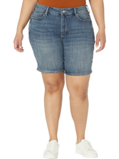 Plus Size Ella Denim Shorts in Seline NYDJ Plus Size