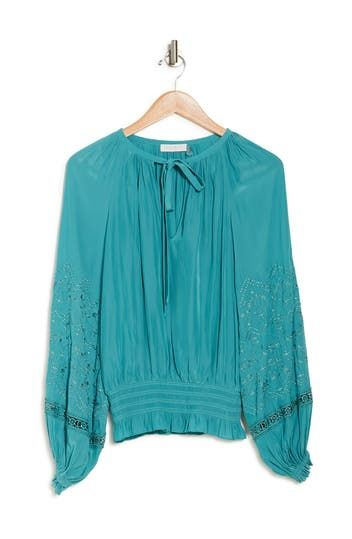 Romy Embroidered Blouse Ramy Brook