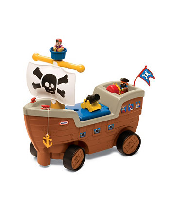 Play n Scoot Pirate Ship Little Tikes