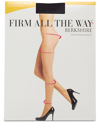 Shaping Firm All The Way Sheer Invisible Control Top Pantyhose 5052 Berkshire