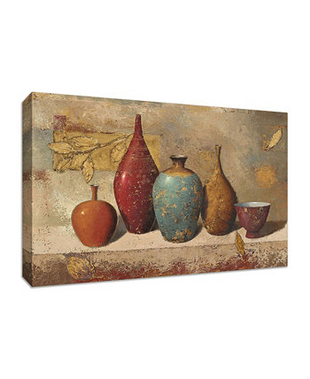 "Leaves and Vessels by James Wiens Fine Art Giclee Print on Gallery Wrap Canvas, 30"" x 20"" Tangletown Fine Art"