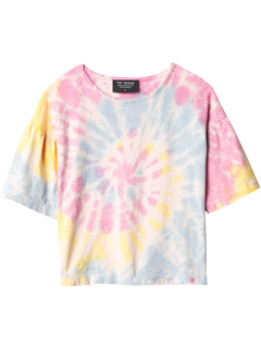 Tie-Dye Gem Bell Sleeve (Toddler/Little Kids/Big Kids) Tiny Whales