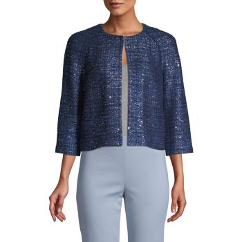 Sparkle Knit Jacket St. John