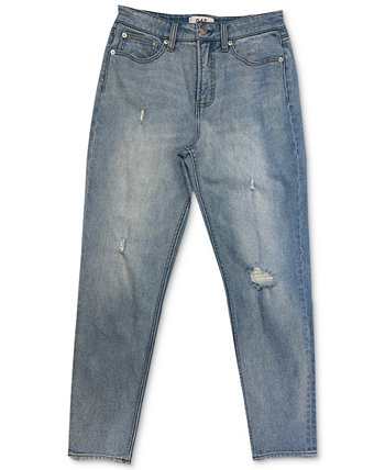 Distressed Ankle Straight Jeans OAT