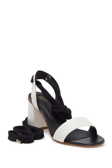 Block Heel Wrap Sandal RED VALENTINO