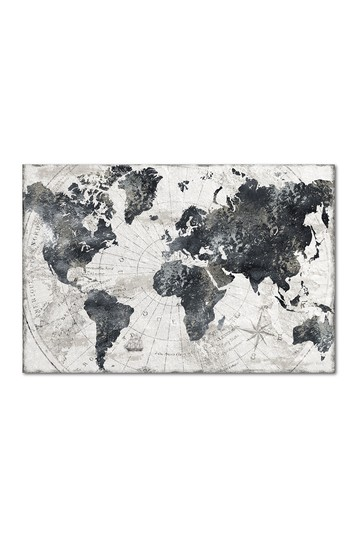 The Globe Gallery Wrapped Canvas Wall Art Courtside Market