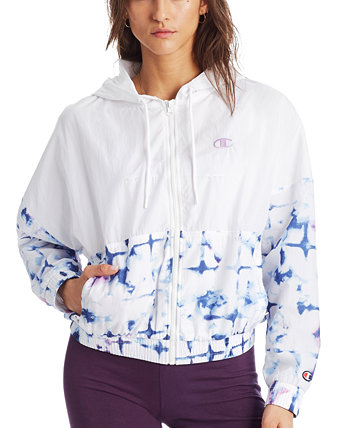 Women's Print-Blocked Hooded Jacket Champion