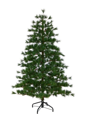 6ft. Yukon Mixed Pine Artificial Christmas Tree NEARLY NATURAL